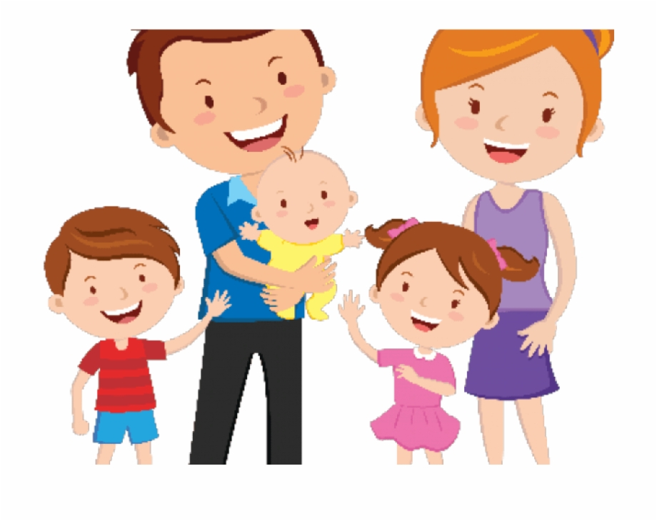 Working together happy family clipart banner black and white library Family Clip Art Png Free PNG Images & Clipart Download ... banner black and white library