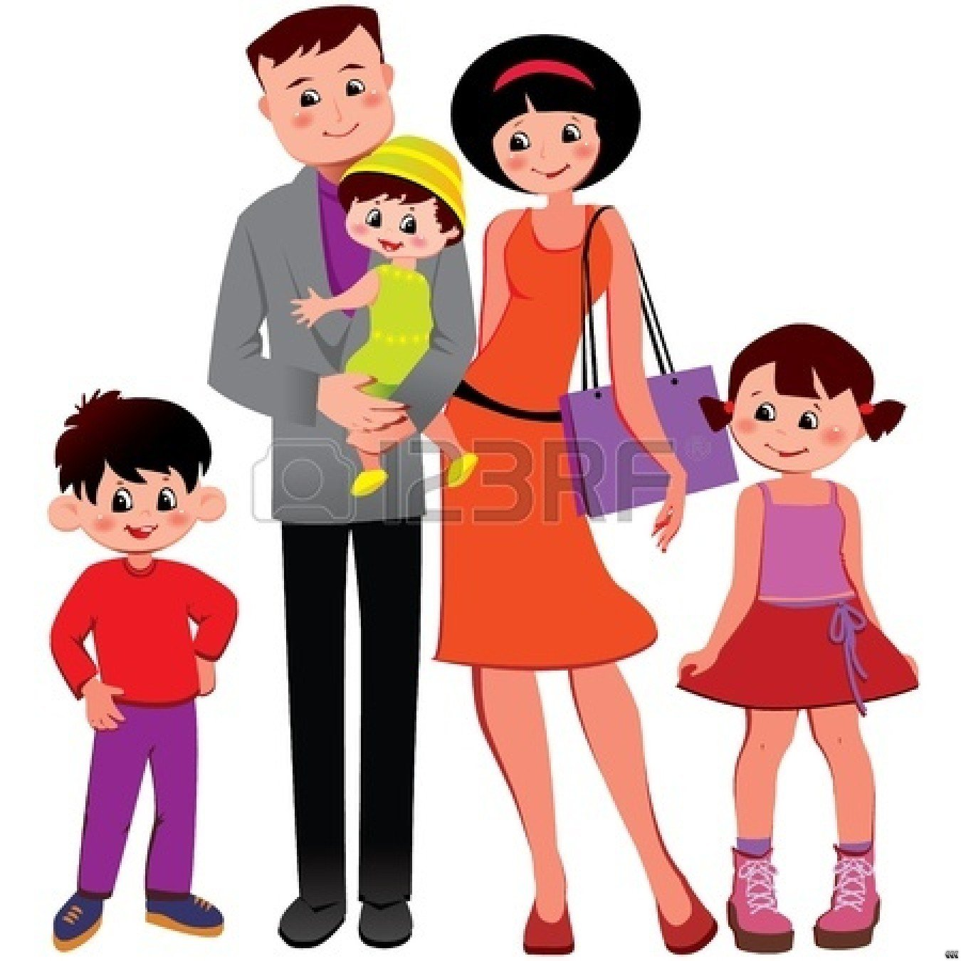 Working together happy family clipart free Family Clipart Images | Free download best Family Clipart ... free