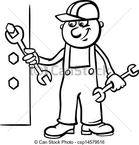 Workman clipart