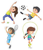 Kids exercise clipart picture freeuse library Exercise Clip Art For Kids | Clipart Panda - Free Clipart Images picture freeuse library