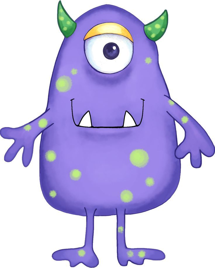 Workout monster clipart vector free stock Alien cartoons clip art | birthday cake | Monster art ... vector free stock