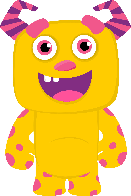 Workout monster clipart clip free CH.B *✿* De Minus | Lil Monsters | Monster classroom ... clip free