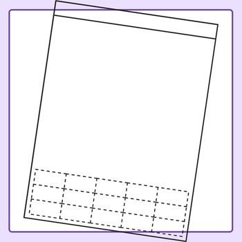 Worksheet clipart stock Cut and Paste Style Worksheet Templates / Layouts Clip Art ... stock