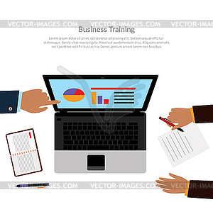 Workspace clipart jpg library Workspace Business Training - vector clipart jpg library