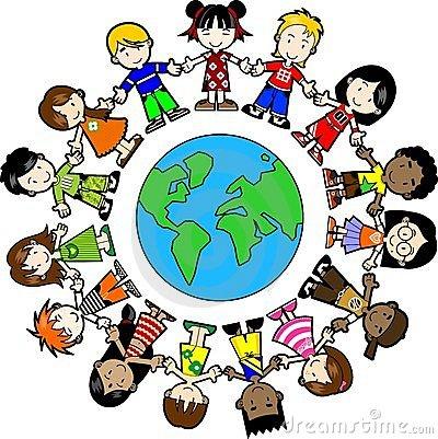 World around us clipart graphic free Kids around the world clipart - ClipartFest - ClipArt Best ... graphic free