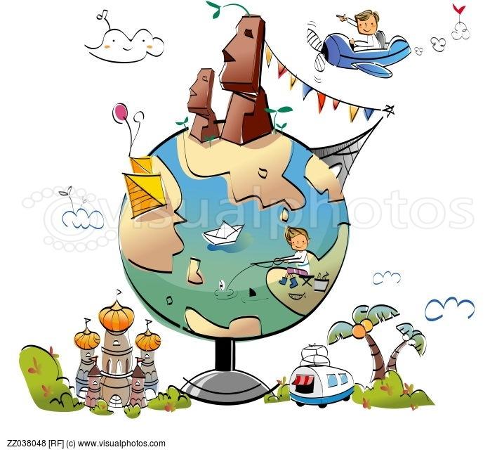 World around us clipart jpg free download Famous Places Around The World Clipart - clipartsgram.com jpg free download