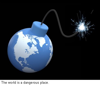 World bomb clipart clipart royalty free stock World Bomb Caption — National Crime Prevention Council clipart royalty free stock
