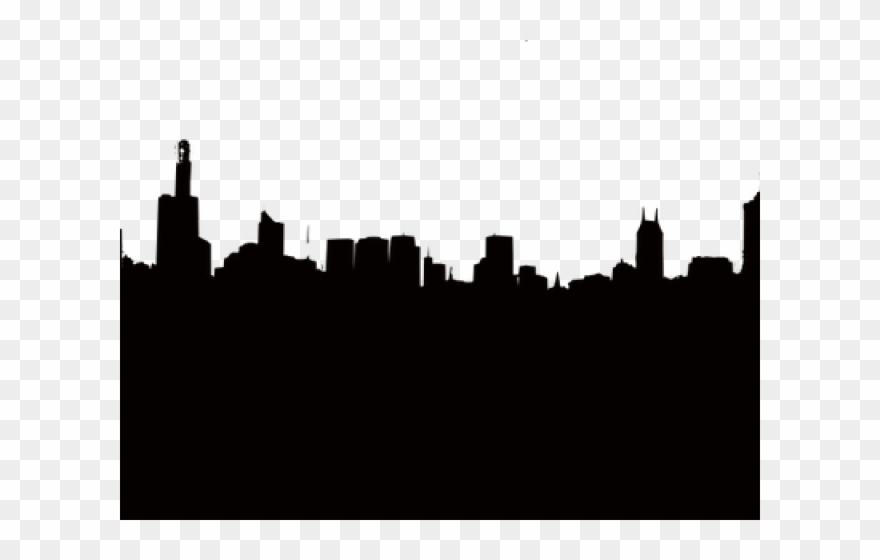 World city lines clipart silhouette jpg transparent Skyscraper Clipart City Wallpaper - Mary Poppins Skyline ... jpg transparent