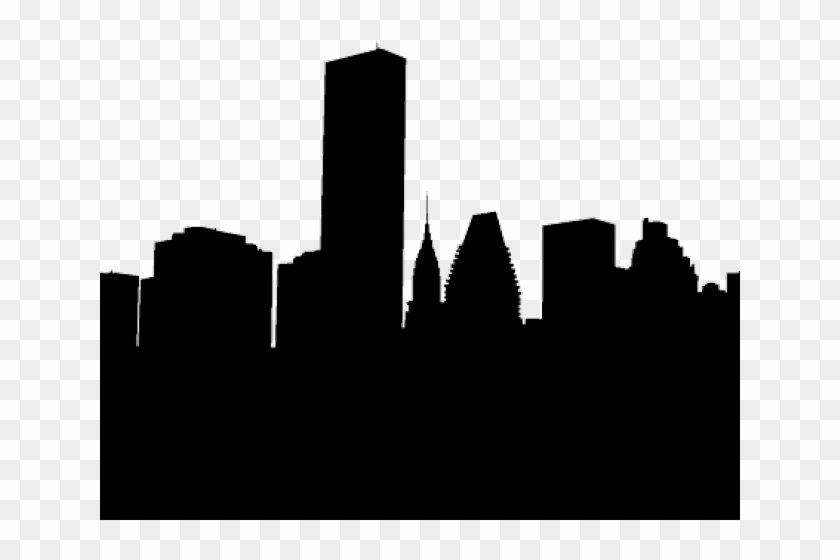 World city lines clipart silhouette svg transparent library Skyscraper Clipart Houston - City Silhouette, HD Png ... svg transparent library