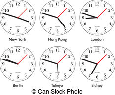 World clocks clipart jpg freeuse library World time Clipart and Stock Illustrations. 14,066 World ... jpg freeuse library
