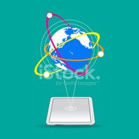 World connect clipart jpg World Connect Vector on Green Background stock vectors ... jpg