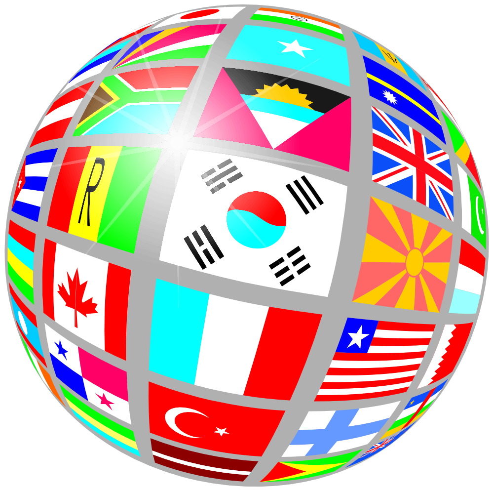 World flag images clipart image transparent stock World Map With Countries Clipart | Clipart Panda - Free ... image transparent stock