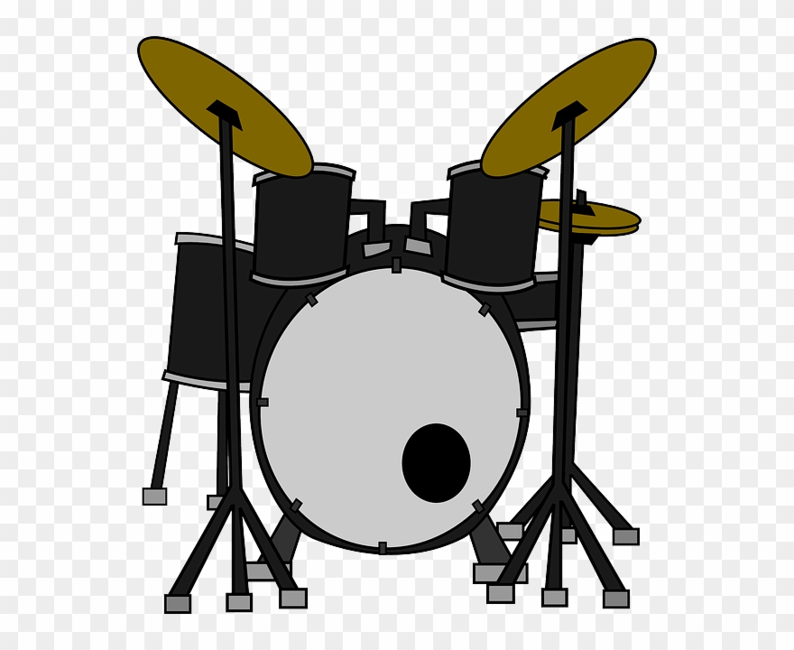 World drumming clipart png royalty free Download Novelty Drum Kit 12 Edible Stand Up Wafer - Clipart ... png royalty free