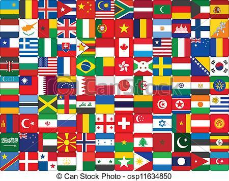 World flag images clipart jpg transparent library World flag clipart 1 » Clipart Portal jpg transparent library