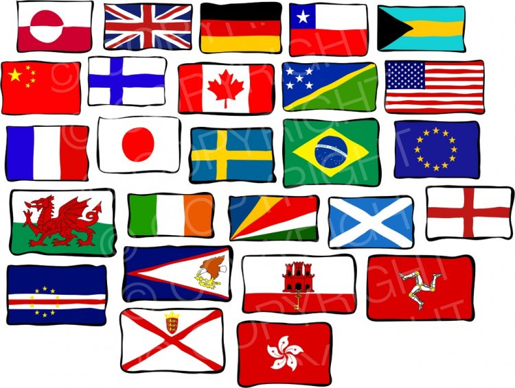World flag images clipart banner free download Flag clipart funky - 111 transparent clip arts, images and ... banner free download