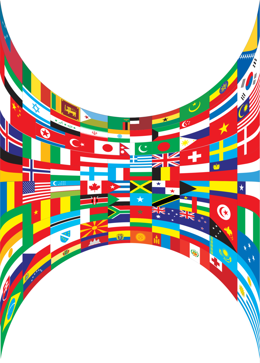 World flags border clipart black and white download Flag Clip Art Border - Best Picture Of Flag Imagesco.Org black and white download