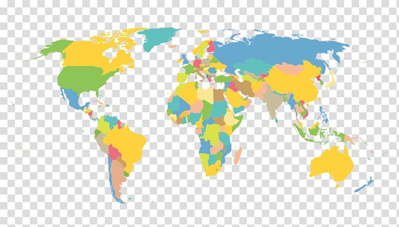 World flat clipart download Earth Globe World map, Flat world map plane transparent ... download