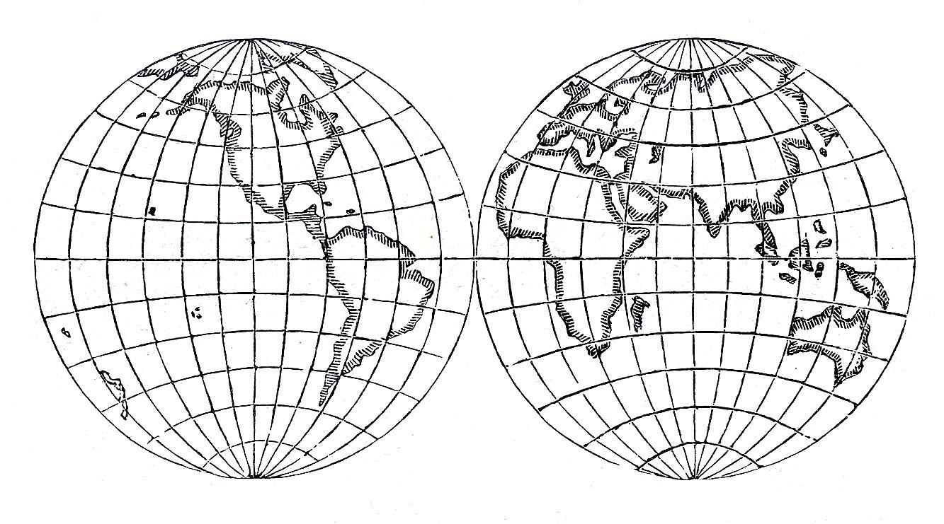 World globe map clipart image royalty free stock World globe clipart - ClipartFest image royalty free stock