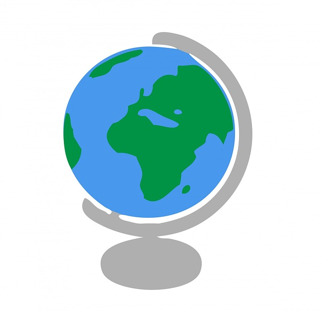 World globe map clipart picture black and white World Globe Map Clipart - Clipart Kid picture black and white
