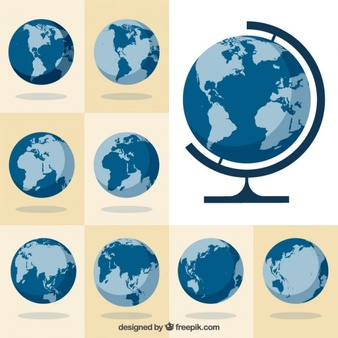 World globe vector clipart graphic freeuse library Globe Vectors, Photos and PSD files | Free Download graphic freeuse library