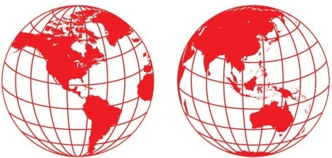 World globe vector clipart vector free download Earth globe free vector download (1,580 Free vector) for ... vector free download