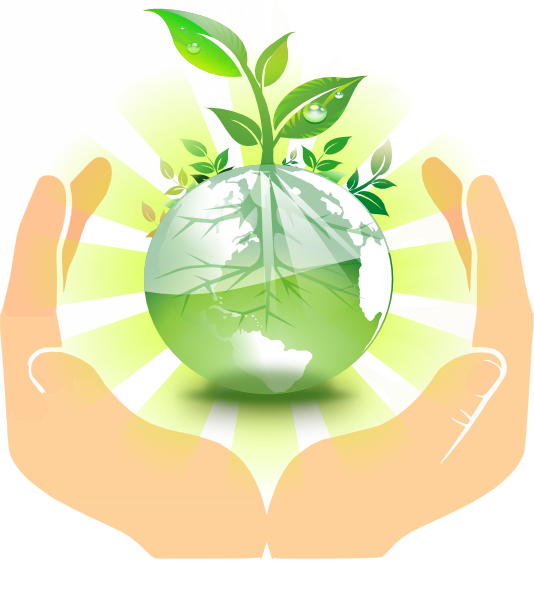 World in our hands clipart