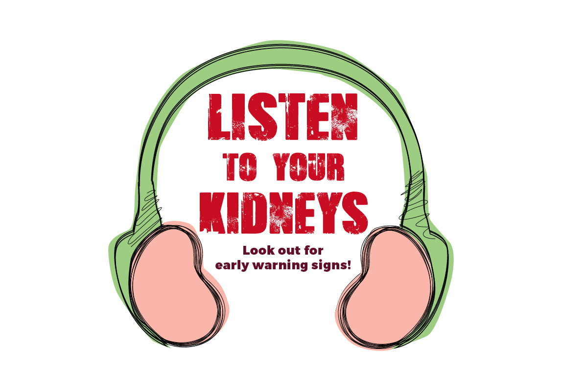 World kidney day clipart banner royalty free library Listen to Your Kidneys 2018 - World Kidney Day banner royalty free library