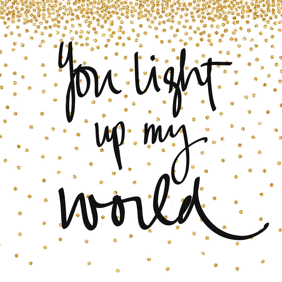World light up clipart vector royalty free stock You Light Up My World vector royalty free stock