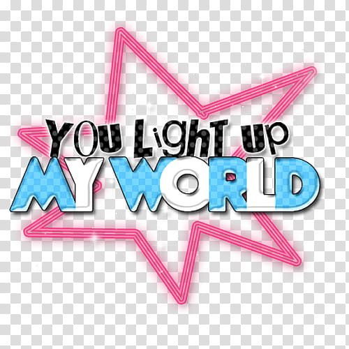 World light up clipart clip freeuse stock O Text D, you light up my world text transparent background ... clip freeuse stock