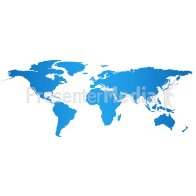World map clipart for powerpoint clipart free library World Map And Globes - A PowerPoint Template from PresenterMedia.com clipart free library