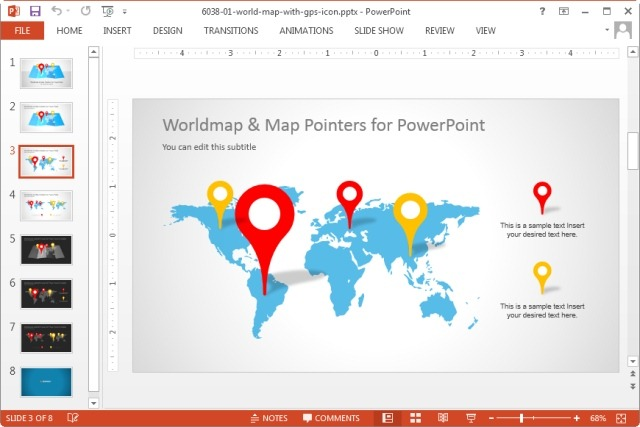 World map clipart for powerpoint svg free Editable World Map Templates for PowerPoint svg free