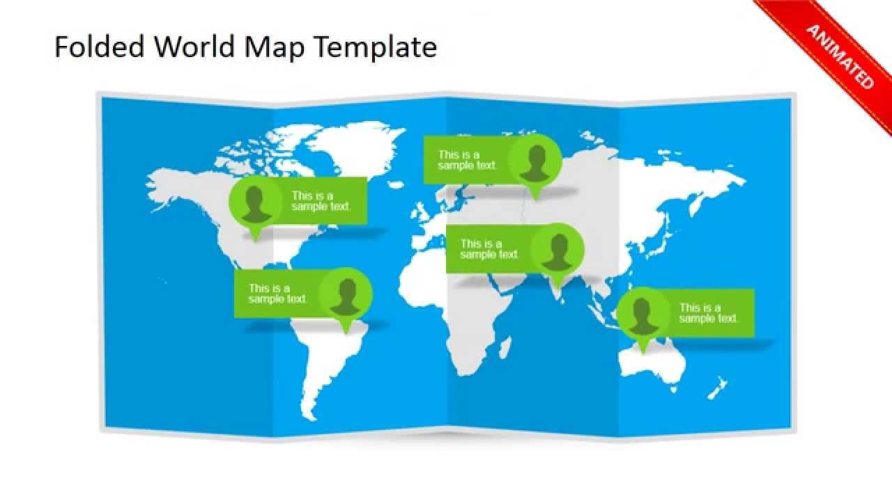 World map clipart uship image stock Clipart world map folded - ClipartFest image stock