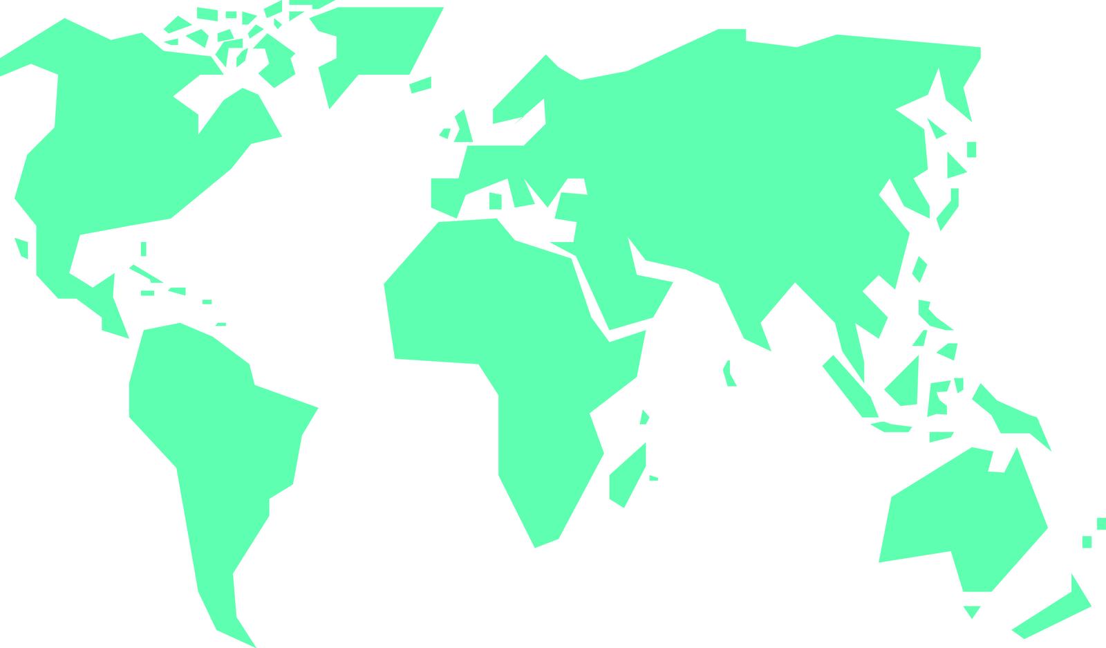 World map clipart vector clip art freeuse library World Map Clipart & World Map Clip Art Images - ClipartALL.com clip art freeuse library