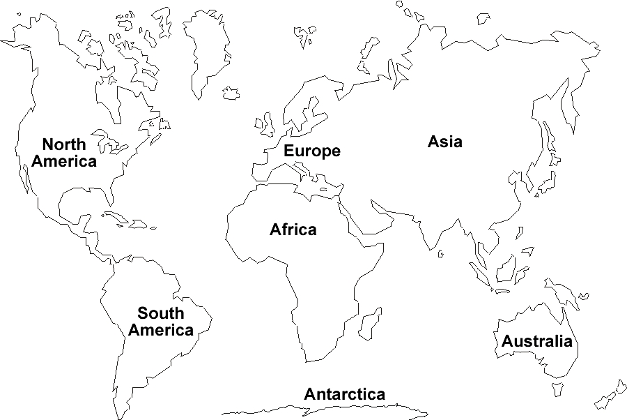 World map labeled clipart svg free stock World map labeled clipart - ClipartFest svg free stock