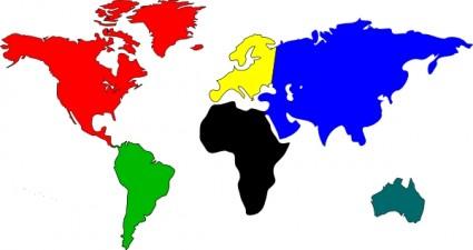 World map outline clipart cartoon jpg freeuse World map outline clipart simple cartoon - ClipartFox jpg freeuse
