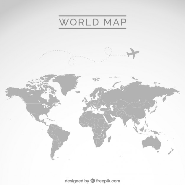 World map outline clipart cartoon clipart royalty free download Map vectors, +2,400 free files in .AI, .EPS format clipart royalty free download