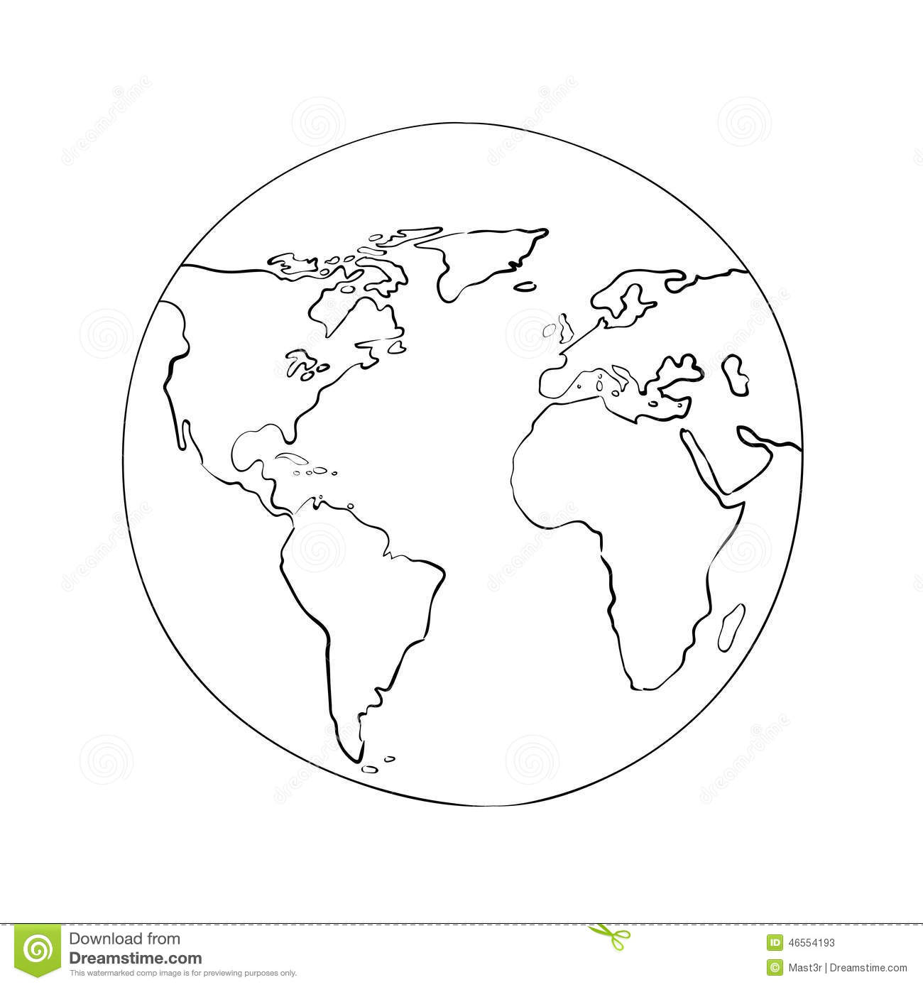 World map outline clipart cartoon clipart freeuse Black And White Elephant Head Drawing Best Photos Of Clip Art ... clipart freeuse
