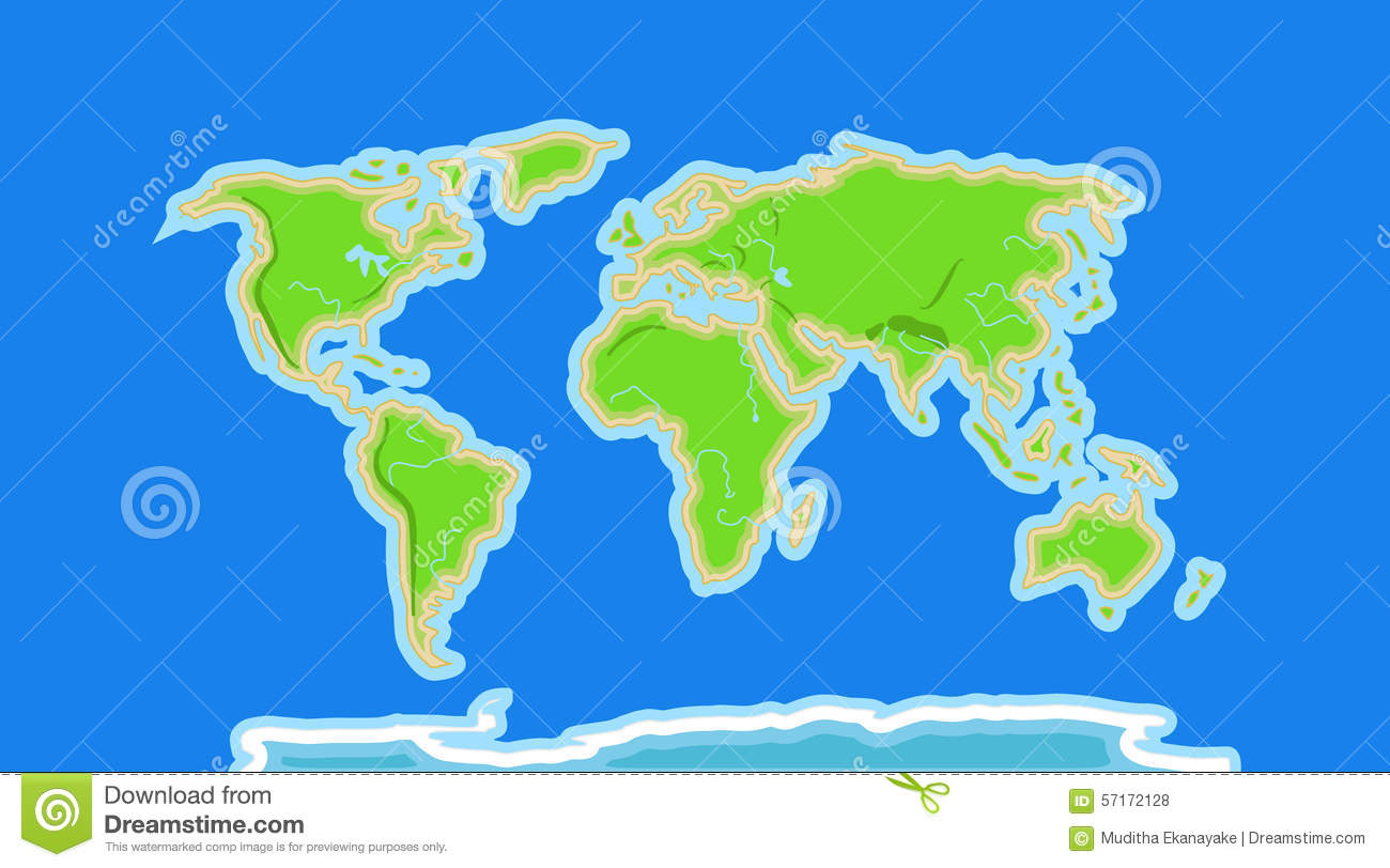 World map outline clipart cartoon clip freeuse stock World map outline clipart cartoon - ClipartFest clip freeuse stock