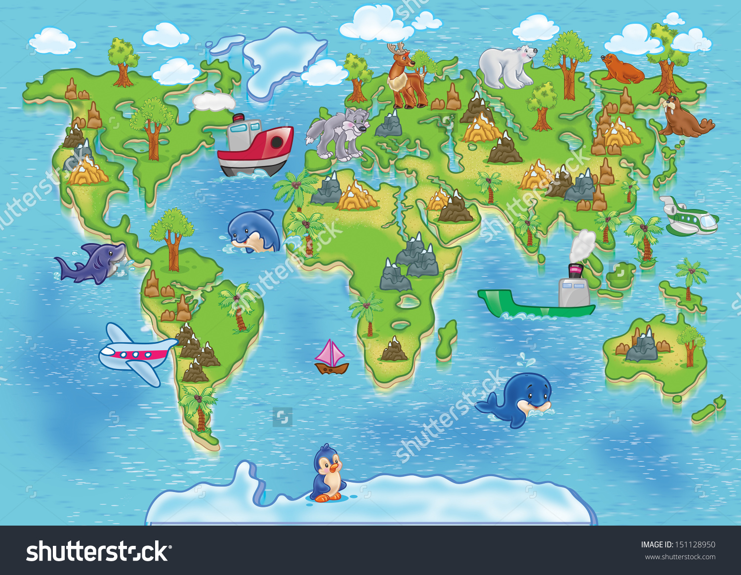World map outline clipart cartoon jpg royalty free Blank Treasure Map Clipart Png File Has A Cartoon Of Pirate Scroll ... jpg royalty free