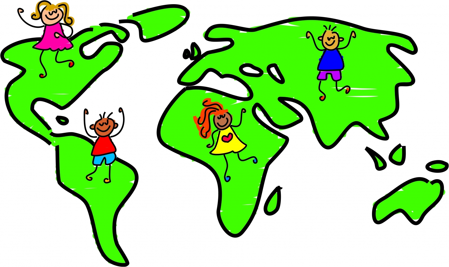 World map outline clipart cartoon clip royalty free library Cartoon World | Free Download Clip Art | Free Clip Art | on ... clip royalty free library