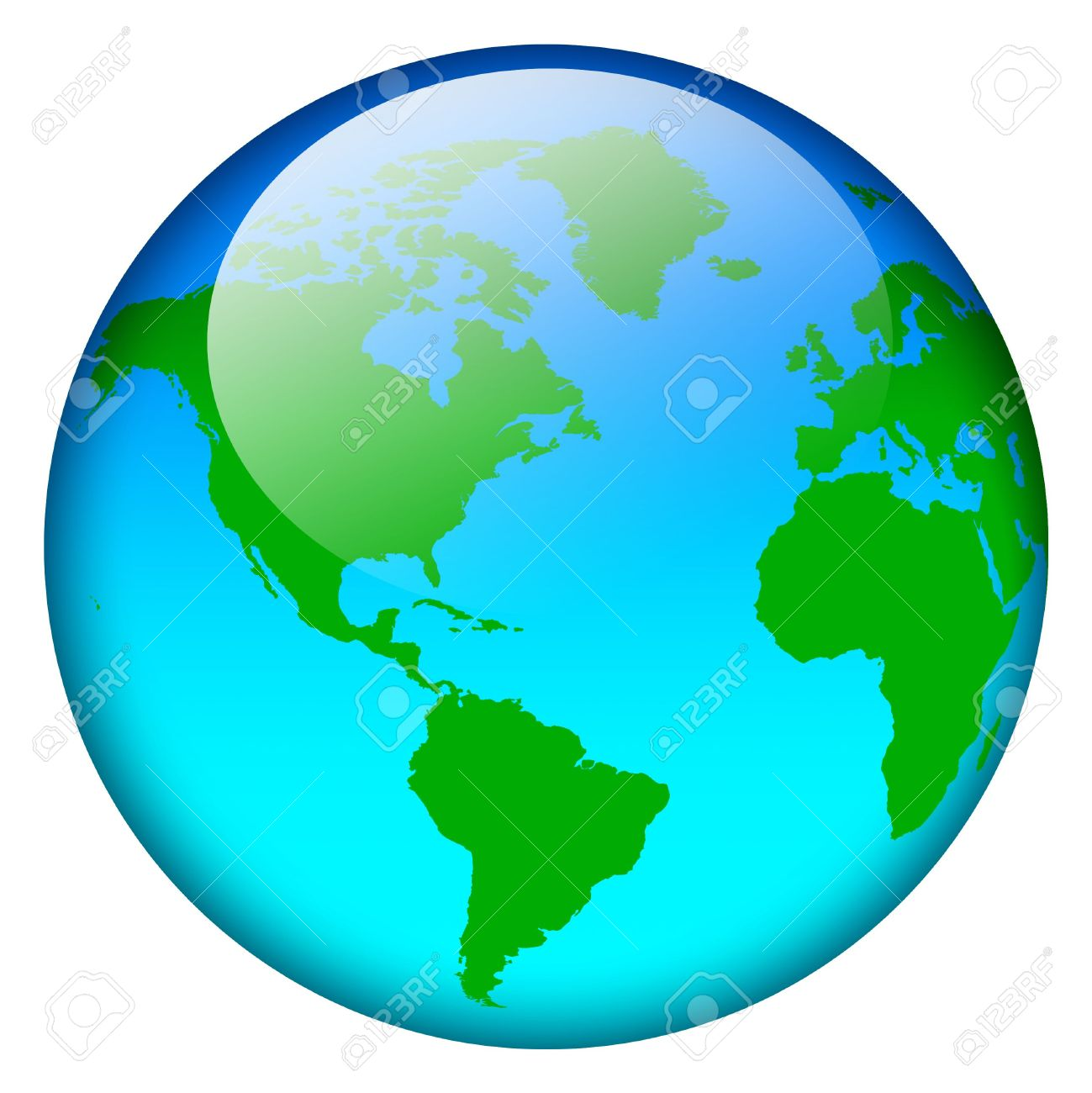 World map round clipart svg download Blue World Map Globe Stock Photo, Picture And Royalty Free Image ... svg download