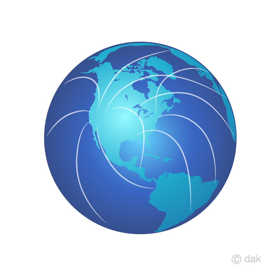 World network clipart picture royalty free stock Network Earth Clipart Free Picture|Illustoon picture royalty free stock