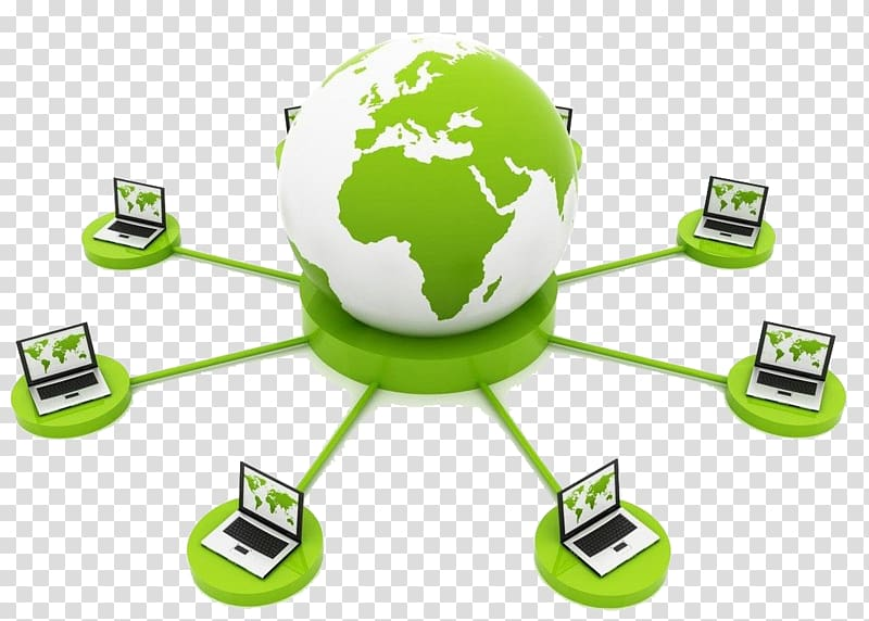 World network clipart clip art library White and green earth and laptop illustration, Social ... clip art library