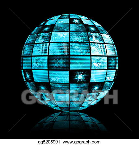 World network clipart png royalty free download Stock Illustration - Telecommunications industry global ... png royalty free download