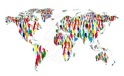 World population map clipart picture download Population clipart free - ClipartFest picture download