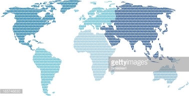 World population map clipart clipart library stock World Population Map stock vectors - Clipart.me clipart library stock