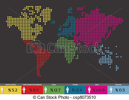 World population map clipart image free stock World population map clipart - ClipartFest image free stock