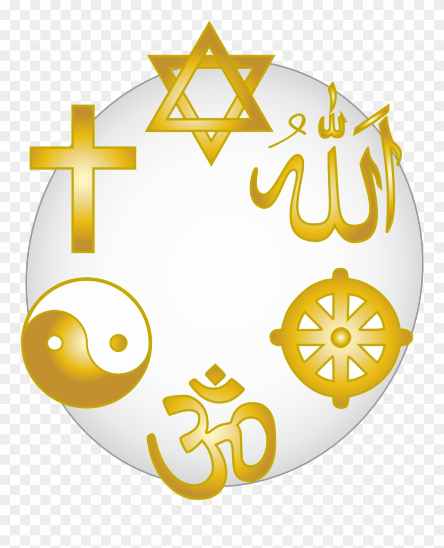 World religiions clipart banner black and white download Religions Clipart - Religions Of The World Clip Art - Png ... banner black and white download