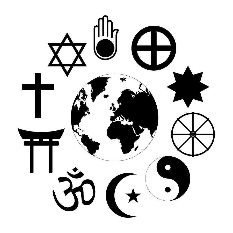 World religiions clipart clip art library download Effects of the Dominant Religion in Social Situations – The Dart clip art library download