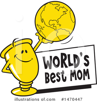 World s best free clipart svg freeuse library Trophy Clipart #1470447 - Illustration by Johnny Sajem svg freeuse library